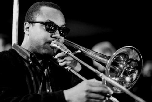 J.J. Johnson with trombone