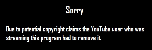 Copyright message