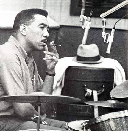 "Earl Palmer of the legendary ""Wrecking Crew"""