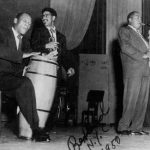 Candido with Charlie Parker and Dizzy Gillespie