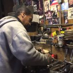 In the workshop with Don Cali