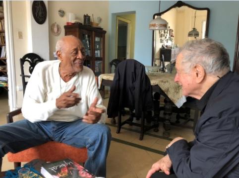 David and Gilberto in Havana